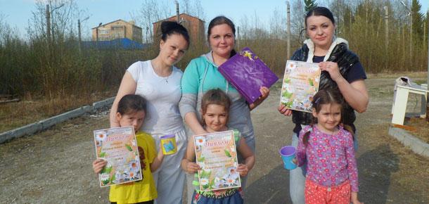 В поселке Набережный Печорского района была проведена конкурсная программа «Семья сезона-2015»