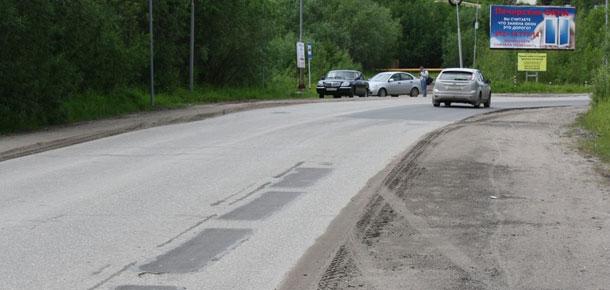 В Печоре идет гарантийный ремонт автодорог