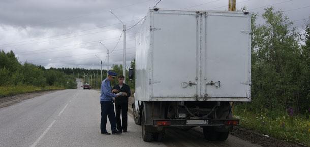 Госавтоинспекция г. Печоры подвела итоги оперативно-профилактического мероприятия «Грузовик»