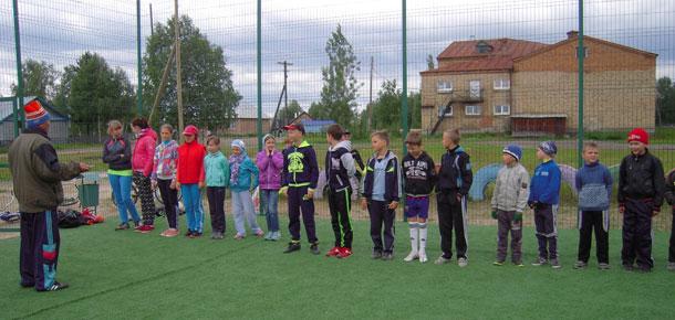 В поселке Каджером Печорского района прошел футбольный турнир