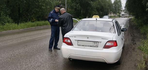 На территории МР «Печора» сотрудниками Госавтоинспекции проводится оперативно-профилактическое мероприятие «Такси»