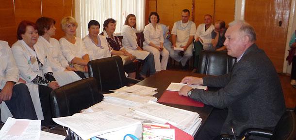 Встреча с врачами Печорской ЦРБ