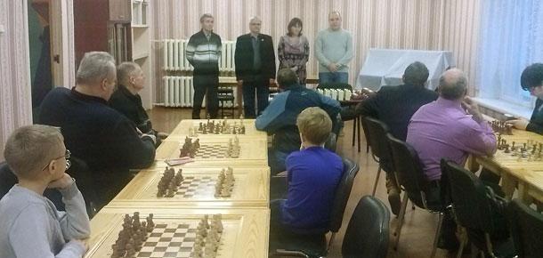 В Печорской ДЮСШ прошло открытие полуфинала личного первенства города по классическим шахматам