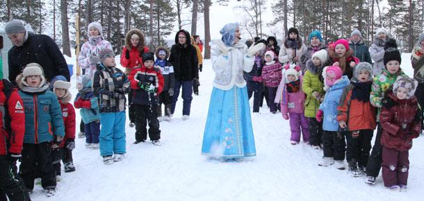 В Печоре открыли зимний сезон