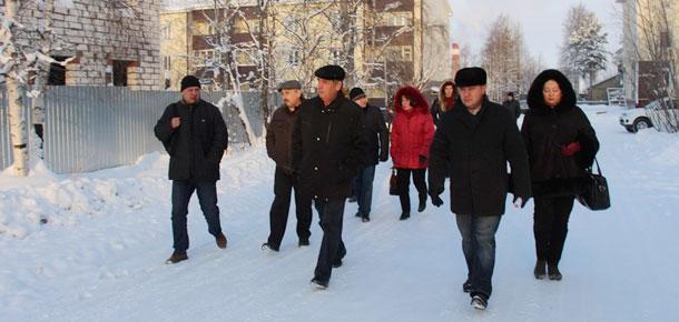 В сжатые сроки будут выработаны варианты завершения строительства домов для переселенцев в Печоре