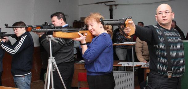 10 января состоялось зимнее первенство МР «Печора» по стрельбе из пневматического оружия