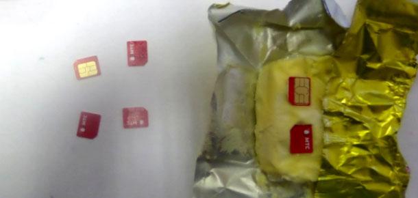 Масло с симками пытались передать в печорскую колонию