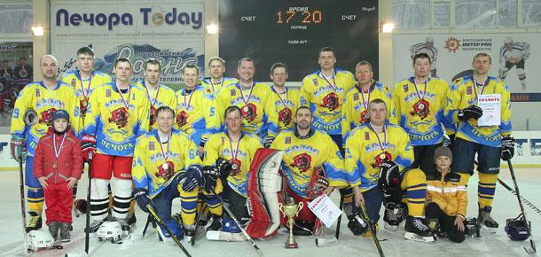 «Колос» – чемпион Печоры по хоккею с шайбой