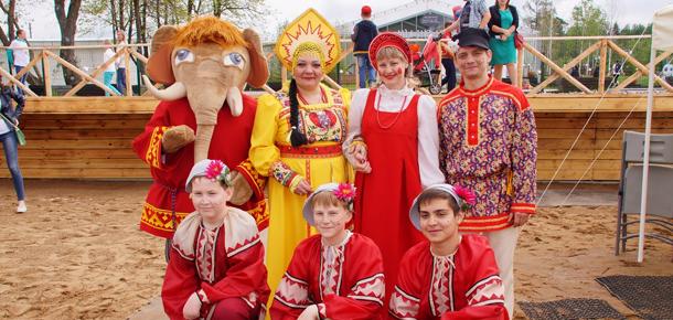 28–29 мая Печора представила Республику Коми на международном фестивале «Сказочные игры на Вятке»