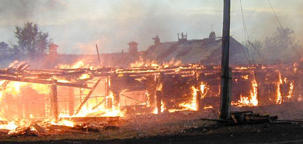 Сводка пожаров в Печоре
