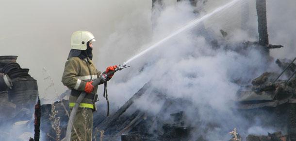 Очередной пожар в Печоре