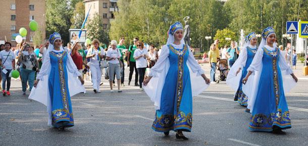 19–21 августа делегация муниципального района «Печора» принимала участие в праздничных мероприятиях, посвященных 95-летию Республики Коми