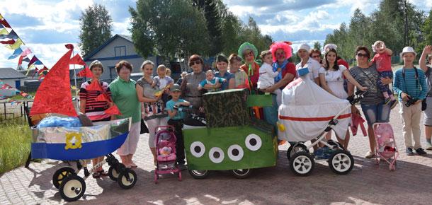 Каджеромский парад колясок