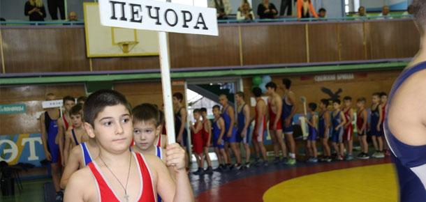 83 борца из городов и районов Республики Коми приняли участие в турнире по вольной борьбе памяти Николая Лунина